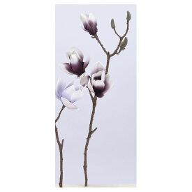 【造花】アスカ/マグノリア×2 つぼみ×4 #007D ダークパープル/A-73327-7D【01】【取寄】