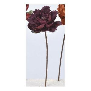 【造花】アスカ/ピオニーピック #007D ダークパープル/A-33802-7D【01】【取寄】 造花(アーティフィシャルフラワー) 造花 花材「さ行」 シャクヤク(芍薬)・ボタン(牡丹)・ピオニー 手作