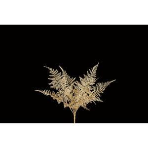 【造花】アスカ/アスパラガスファーンブッシュ #040 ゴールド/A-74514-40【01】【取寄】