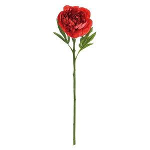 【造花】MAGIQ(東京堂)/プレジールピオニー #3 RED レッド/FM002707-003【01】【取寄】 造花(アーティフィシャルフラワー) 造花 花材「さ行」 シャクヤク(芍薬)・ボタン(牡丹)・ピオニー 手