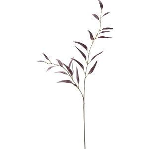 【造花】YDM/スリムユーカリスプレー/FG-5072-BUR【01】【取寄】