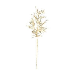 【造花】パレ/アスパラガススプレー ゴールド/P-8355-09【01】【取寄】