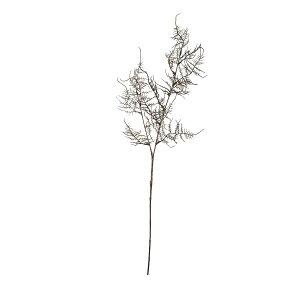 【造花】パレ/アスパラガススプレー ブラウン/P-8355-90【01】【取寄】