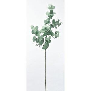 【造花】アスカ/ユーカリ #063G グレイグリーン/A-43337-63G【01】【取寄】 造花(アーティフィシャルフラワー) 造花葉物、フェイクグリーン ユーカリ 手作り 材料