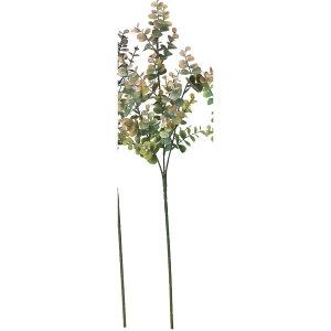 【造花】アスカ/ユーカリスプレー #028G グリーンブラウン/A-43449-28G【01】【取寄】