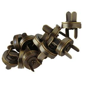 NBK/足折マグネットボタン(差し込み) 18mm アンティーク 10組/SM12-AG-10【07】【取寄】 手芸用品 持ち手・金具 マグネットボタン 手作り 材料