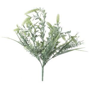 【造花】YDM/ハーブミックスブッシュ GR/GL -5248-GR【01】【取寄】造花(アーティフィシャルフラワー) 造花葉物、フェイクグリーン ハーブ 手作り 材料