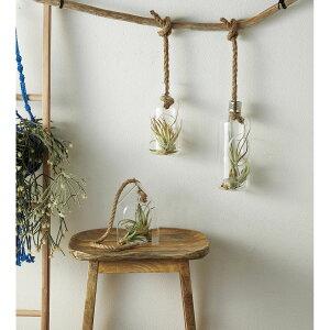 松野ホビー/ハンギングガラスボトルM/FR-1410【01】【取寄】[3個]花器、リース 花器・花瓶 ガラス花器 手作り 材料