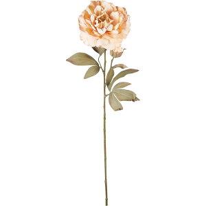 【造花】YDM/ドライドピオニー ベージュ/FA -7308-BE【01】【取寄】造花(アーティフィシャルフラワー) 造花 花材「さ行」 シャクヤク(芍薬)・ボタン(牡丹)・ピオニー 手作り 材料