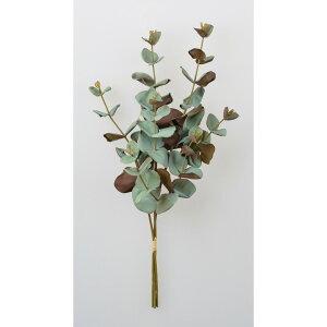 【造花】アスカ/ユーカリバンチ(1束3本) グレイグリーン/A-43744-63G【01】【取寄】 造花(アーティフィシャルフラワー) 造花葉物、フェイクグリーン ユーカリ 手作り 材料