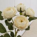 即日 【造花】MAGIQ(東京堂)/エクリュメリンダローズ クリーム/FM000154-037《 造花(アーティフィシャルフラワー) …