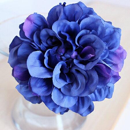 即日 【造花】アスカ/ダリアピック ブルーパープル/A-31451-9P《 造花(アーティフィシャルフラワー) 造花 花材「た行」 ダリア 》