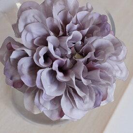 即日 【造花】アスカ/ダリアピック ラベンダークリーム/A-31451-6C《 造花(アーティフィシャルフラワー) 造花 花材「た行」 ダリア 》