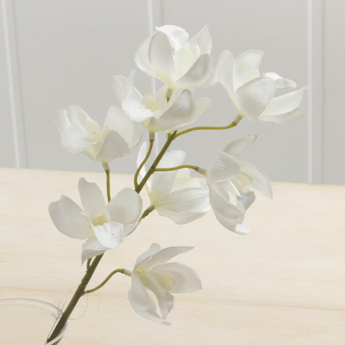 即日★【造花】YDM/シンビジューム/FA6646-CR《 造花(アーティフィシャルフラワー) 造花 花材「さ行」 シンビジューム 》