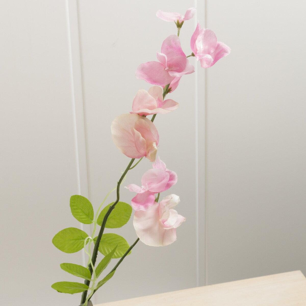 即日 【造花】YDM/スイートピー ピンク/FS7762-P《 造花(アーティフィシャルフラワー) 造花 花材「さ行」 スイトピー 》
