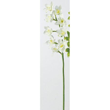 【造花】アスカ/A-39593 シンビジュームX9 NO.011 クリ−ムホワイト/A-39593-011【01】【取寄】《 造花(アーティフィシャルフラワー) 造花 花材「さ行」 シンビジューム 》