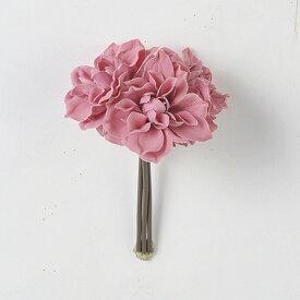 即日 【造花】アスカ/A-39576 ダリアバンチ(1束3本) #055 モ−ブ/A-39576-055《 造花(アーティフィシャルフラワー) 造花 花材「た行」 ダリア 》