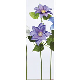 【造花】アスカ/A-32651 クレマチスX2 #006 ラベンダ−/A-32651-006【01】【取寄】《 造花(アーティフィシャルフラワー) 造花 花材「か行」 クレマチス 》