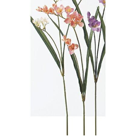 即日 【造花】アスカ/フリージア ピンク/A-32243-3《 造花(アーティフィシャルフラワー) 造花 花材「は行」 フリージア 》