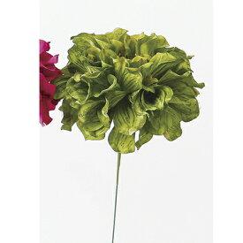 即日 【造花】アスカ/ダリアピック #051A グリ−ン/A-31451《 造花(アーティフィシャルフラワー) 造花 花材「た行」 ダリア 》