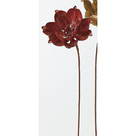 【造花】アスカ/マグノリア #002 レッド/AX68408【01】【01】【取寄】《 造花(アーティフィシャルフラワー) 造花 花材「ま行」 モクレン(木蓮)・マグノリア 》