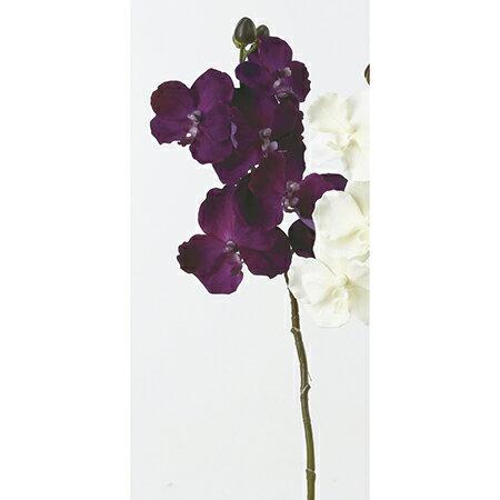 即日 【造花】アスカ/ベルベットバンダオーキッド×6 つぼみ×3 #045 オーキッド/A-32308《 造花(アーティフィシャルフラワー) 造花 花材「ら行」 ラン(蘭)・オーキッド 》