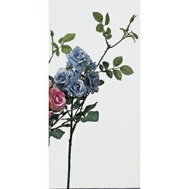 即日 【造花】アスカ/ローズピック×7 ライトブルー/A-36112-19《 造花(アーティフィシャルフラワー) 造花 花材「は行」 バラ 》