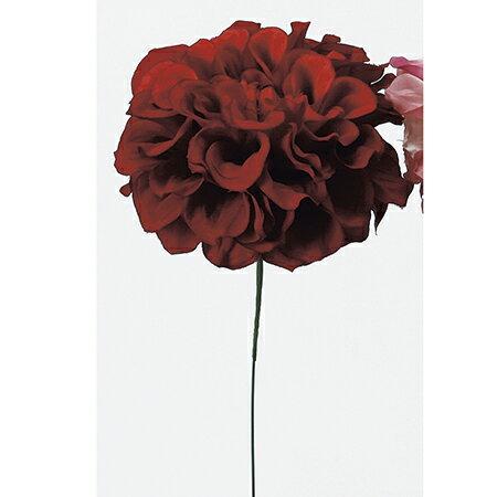 即日★【造花】アスカ/ダリアピック レッド/A-31451-2《 造花(アーティフィシャルフラワー) 造花 花材「た行」 ダリア 》