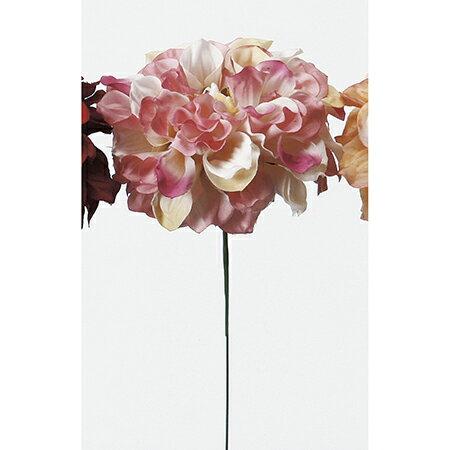 即日★【造花】アスカ/ダリアピック ピンクホワイト/A-31451-3W《 造花(アーティフィシャルフラワー) 造花 花材「た行」 ダリア 》