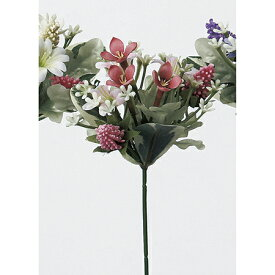 【造花】アスカ/ミニフラワーピック ピンク/A-32387-3【01】【01】【取寄】《 造花(アーティフィシャルフラワー) 造花 花材「ま行」 その他「ま行」造花花材 》