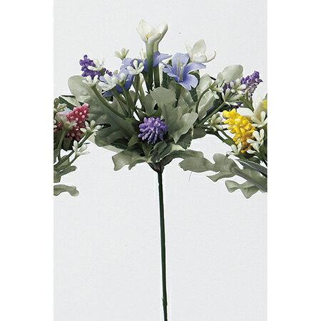 【造花】アスカ/ミニフラワーピック ラベンダー/A-32387-6【01】【取寄】《 造花(アーティフィシャルフラワー) 造花 花材「ま行」 その他「ま行」造花花材 》