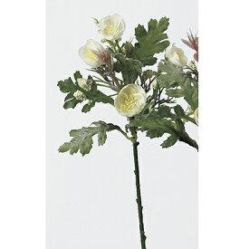 【造花】アスカ/ミニフラワーピック ホワイト/A-32463-1【01】【01】【取寄】《 造花(アーティフィシャルフラワー) 造花 花材「ま行」 その他「ま行」造花花材 》