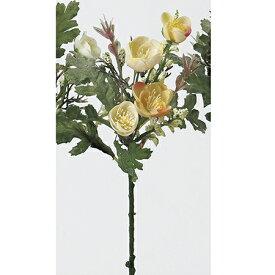 【造花】アスカ/ミニフラワーピック クリームピンク/A-32463-3C【01】【01】【取寄】《 造花(アーティフィシャルフラワー) 造花 花材「ま行」 その他「ま行」造花花材 》