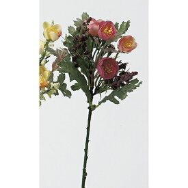 【造花】アスカ/ミニフラワーピック ローズピンク/A-32463-5P【01】【01】【取寄】《 造花(アーティフィシャルフラワー) 造花 花材「ま行」 その他「ま行」造花花材 》