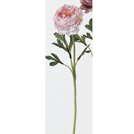 即日 【造花】アスカ/ラナンキュラス ピンクホワイト/A-31841-3W《 造花(アーティフィシャルフラワー) 造花 花材「ら行」 ラナンキュラス 》