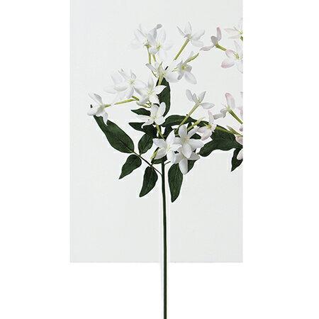 【造花】アスカ/ジャスミンピック×15 ホワイト/A-32476-1《 造花(アーティフィシャルフラワー) 造花 花材「さ行」 ジャスミン 》