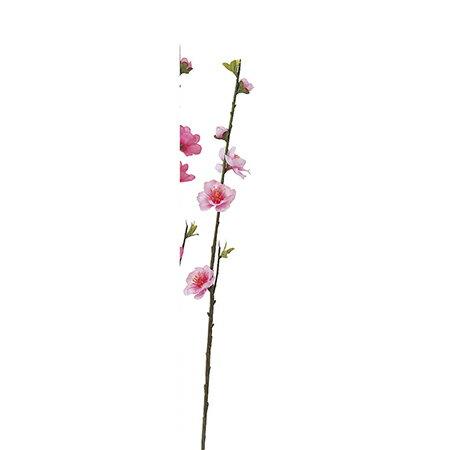 即日★【造花】アスカ/桃ピック ピンク/A-03849-3《 造花(アーティフィシャルフラワー) 造花 花材「ま行」 モモ(桃) 》