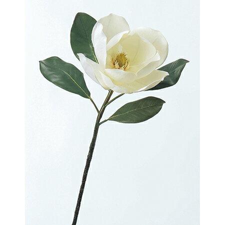 【造花】アスカ/マグノリア ホワイト/A-31265-1【01】【取寄】《 造花(アーティフィシャルフラワー) 造花 花材「ま行」 モクレン(木蓮)・マグノリア 》