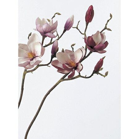 【造花】アスカ/マグノリア×2 つぼみ×2 バーガンディ/A-31344-15【01】【取寄】《 造花(アーティフィシャルフラワー) 造花 花材「ま行」 モクレン(木蓮)・マグノリア 》