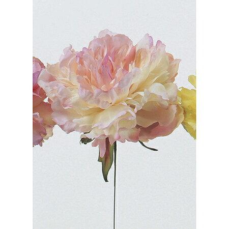 即日 【造花】アスカ/ピオニーピック ライトピンク/A-31454-13《 造花(アーティフィシャルフラワー) 造花 花材「さ行」 シャクヤク(芍薬)・ボタン(牡丹)・ピオニー 》