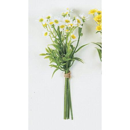 即日 【造花】アスカ/デージー×21(1束6本) ホワイト/A-31862-1《 造花(アーティフィシャルフラワー) 造花 花材「た行」 デージー 》