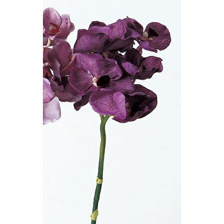 【造花】アスカ/バンダオーキッド×8 バイオレット/A-31021-35【01】【01】【取寄】《 造花(アーティフィシャルフラワー) 造花 花材「ら行」 ラン(蘭)・オーキッド 》