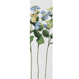 【造花】アスカ/ジャスミン×9 つぼみ×19 ライトブルー/A-31912-19【01】【取寄】《 造花(アーティフィシャルフラワー) 造花 花材「さ行」 ジャスミン 》