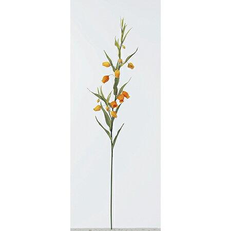 【造花】アスカ/サンダーソニア×9 つぼみ×4 オレンジ/A-30250-30【01】【取寄】《 造花(アーティフィシャルフラワー) 造花 花材「さ行」 その他「さ行」造花花材 》