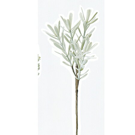 即日 【造花】アスカ/ブルーアイスピック フロストグリーン/A-40649-51F《 造花(アーティフィシャルフラワー) 造花葉物、フェイクグリーン その他の造花葉物・フェイクグリーン 》