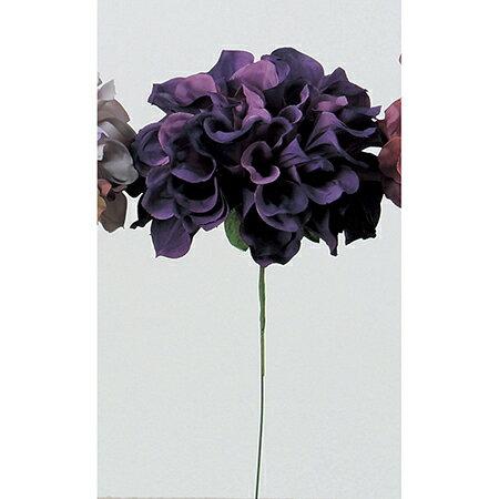 即日 【造花】アスカ/ダリアピック ツートンパープル/A-31451-7T《 造花(アーティフィシャルフラワー) 造花 花材「た行」 ダリア 》