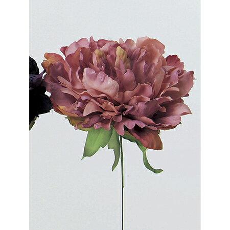 即日 【造花】アスカ/ピオニーピック モーブ/A-31454-55《 造花(アーティフィシャルフラワー) 造花 花材「さ行」 シャクヤク(芍薬)・ボタン(牡丹)・ピオニー 》