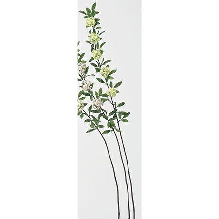 【造花】アスカ/コデマリ×5 ホワイトグリーン/A-32251-52【01】【取寄】《 造花(アーティフィシャルフラワー) 造花 花材「か行」 コデマリ 》