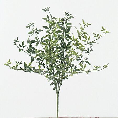 即日★【造花】アスカ/ジャスミンリーフブッシュ フロストグリーン/A-41631-51F《 造花(アーティフィシャルフラワー) 造花枝物 その他の造花枝物 》