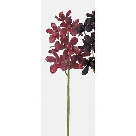 【造花】アスカ/ミニバンダ×9 レッド/A-32342-2【01】【取寄】《 造花(アーティフィシャルフラワー) 造花 花材「ら行」 ラン(蘭)・オーキッド 》